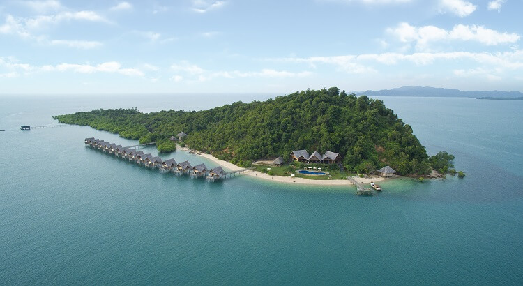 Keindahan Telunas Resorts Private Island Kepri