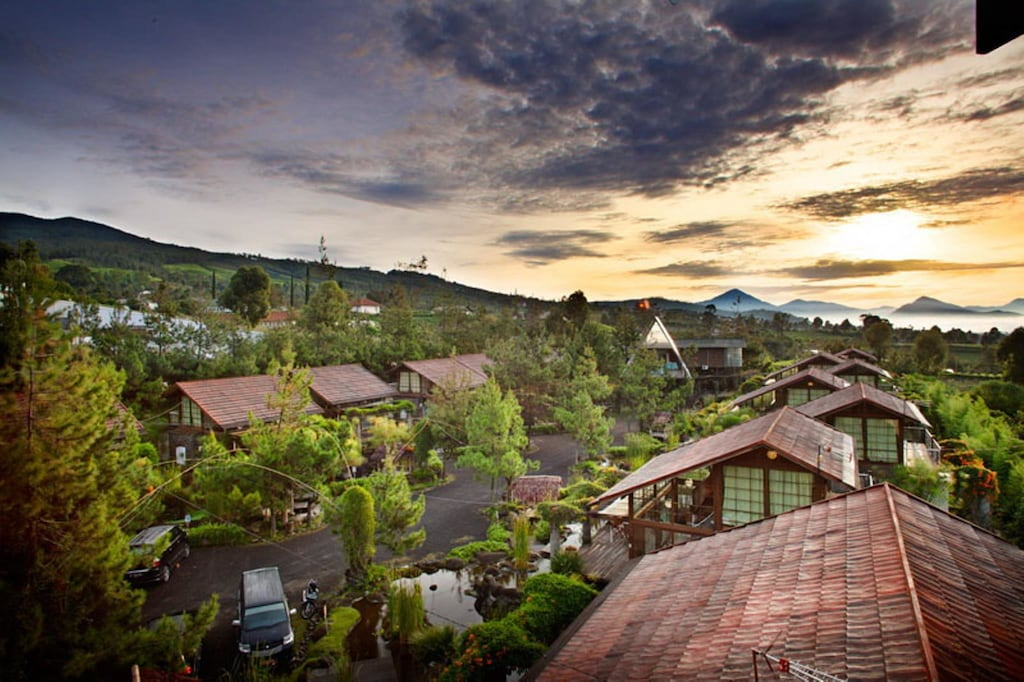 Hotel Di Bandung Vila Air Natural Resort