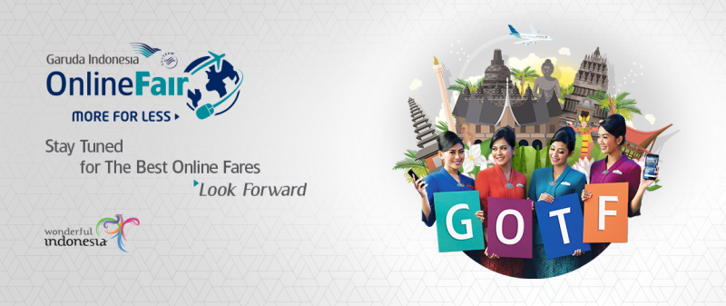 Garuda Indonesia Online Travel Fair 2017 - GOTF