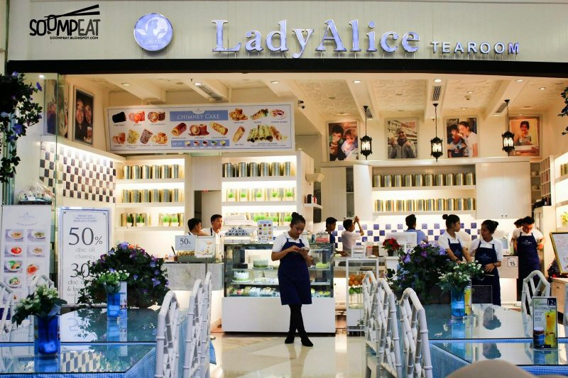 Restoran Di Gandaria City - Lady Alice Tea Room